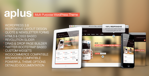 Aplus – Multipurpose WordPress Theme