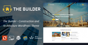 The Builder Responsive WordPress Theme for Construction and Builders